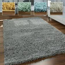 hochflor teppich shaggy für wohnzimmer weich flauschig