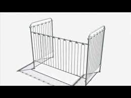Bratt Decor Crib Assembly Instructions by Joy Crib Assembly Youtube