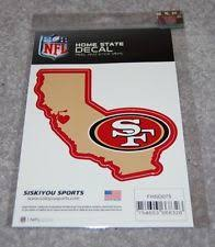 Item 3 SAN FRANCISCO 49ERS NFL FOOTBALL SPORTS HOME STATE SMALL DECAL