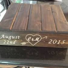 Rustic Reclaimed Wooden Wedding Cake Stand Beautifully Hand Crafted For Your Special Day This