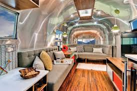 100 Inside An Airstream Trailer Renovated Into Midcentury Modern Dream Curbed