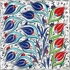 20cm x 20cm karo k 019 turkish decorative ceramics desings tiles