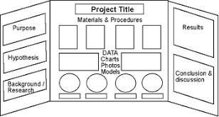 Make A Display Board General Diagram Of Science Fair