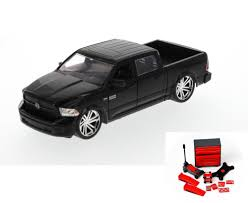 Diecast Car & Mechanic Set Package - Just Trucks 2014 Dodge Ram 1500 ...