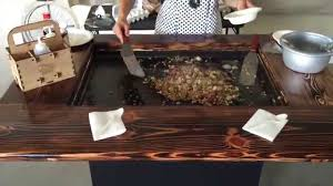 Bacon Fried Rice Cooking Tutorial - YouTube Great Backyard Hibachi Grill Architecturenice Flattop Propane Gas Torched Steel Bbq Guys Coffee Table Tables Thippo Cypress Dropin Santa Maria Woo Charcoal Pit By Jdfabrications Outdoor Kitchen Landscaping Photo Gallery The Geaux And Grilling Pinterest Japanese Cuisine Flames On At Oishi Steak House Food Jag Eight Is A 3in1 Pnic Fire Store Official Cbook