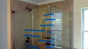 install frameless glass doors for tile shower tile