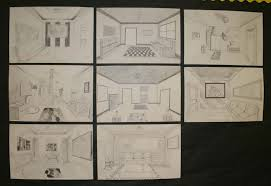 Mrs Macres Art Class One Point Perspective Drawing