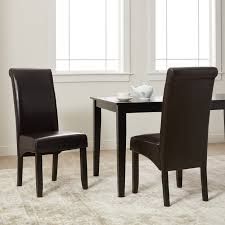 Shop Milan Faux Leather Dining Chairs (Set Of 2) - On Sale - Free ... Ding Chair Buying Guide Hayneedle Clearance Koebers Interiors Crocodile Chairs Online Accents Of Salado Tuscan Decor Fniture Beautify Your Home With Unique And Handmade Genuine Leather Room Madison Walnut Barley Twist Set 8 Chairish Zola 2 Dark Chocolate Stools Floridian Side Fabric Or Custom Upholstered Southwestern Sunset Western Passion Wingback White Parsons