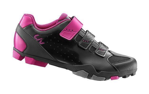 Giant Women's Liv Fera Cycling Shoes - Black and Fuchsia, 7 USW