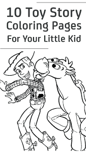 Toy Story Coloring Pages Online Games And Activities Buzz Woody Party Free