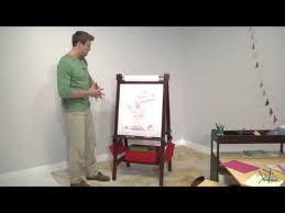 Kidkraft Easel Desk Espresso by Classic Playtime Deluxe Easel Espresso Product Review Video