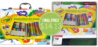 Crayola Bathtub Crayons Target by Crayola Art Case Only 14 13 At Target The Krazy Coupon Lady