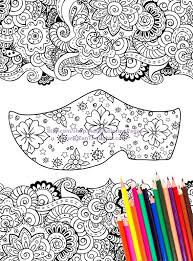 Printable Coloring Page FLOWERY WOODEN CLOG