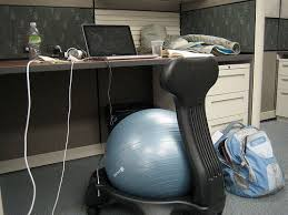 Physio Ball Chair Base by Finding The Perfect Office Chair Aeron Vs Swiss Ball Vs The