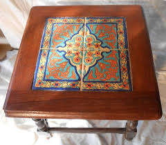 16 best end tables images on pinterest spanish revival tile