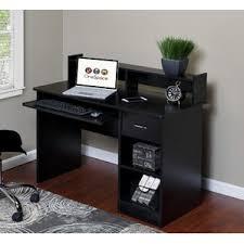 Wayfair Black Corner Desk by Locking Desks You U0027ll Love Wayfair