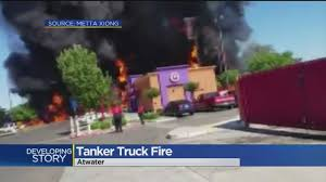 1 Dead In Frightening Tanker Truck Fire In Atwater « CBS Sacramento Tanker Truck Fire Kills Driver Temporarily Shuts Down I270 And Hwy 20 Near I80 In Sierra Closed Due To Tanker Truck Explosion One Person Killed Another Injured Collision Fire Pakistan Fuel Kills At Least 140 Fox 61 Explodes Closing I94 Detroit Chicago Tribune Causes Panic California Town Medium Duty Fuel Expertise Gives Up On No One Is Carrying Estimated 8700 Gallons Of Gasoline Burns Three Gnville The Daily Gazette The Rollover Risks Of Tanker Trucks Gas Explosion Employees Scrambles After Explodes Outside Restaurant