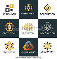 A Collection Of Logos For Interior Decoration Logo Icon Boutique