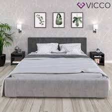 schwarz 1er vicco nachttisch boston nachtschrank kommode