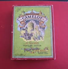 Camelot Board Game 1930