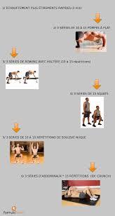 programme de musculation débutant à la maison ou en salle