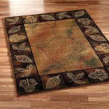 Rustic Area Rugs Living Room Impressive Wonderful Round Rug Runners Lodge Within Attractive