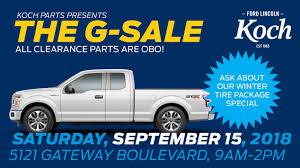 100 Truck Parts Edmonton Garage Sale Sept 15th Koch Ford Lincoln