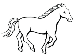 H Is For Horse Coloring Page Pages Of A