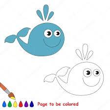 Imágenes Ballena Animados Para Colorear Ballena De Dibujos
