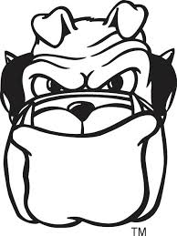 Extraordinary Georgia Bulldog Coloring Pages Print Pin Drawn Bulldogs 7 Pencil And In Color Kids