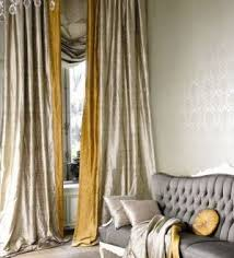 Chic And Creative Gray Gold Curtains Designs Best 25 Silk Drapes Ideas On Pinterest Dining Room Drapery