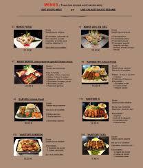restaurant yi à mulhouse carte menu et photos