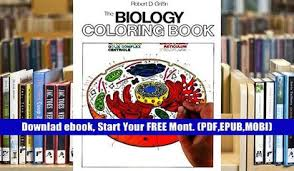 Audiobook The Biology Coloring Book HarperCollins Books Not Childrens Full
