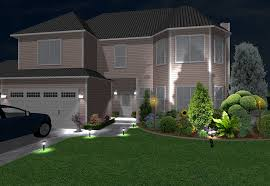 Landscape Lighting Ideas Plan Wonderful