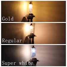 h11 12v 55w new white light bulbs 6000k 2 pcs halogen xenon