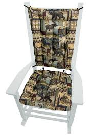 Woodlands Peters Cabin Rocking Chair Cushions - Latex Foam Floral Chair Covers Ebay Animal Print And Antique Ornate Carved Wooden Wingback W Monkey Elephant Upholstered Cushions Woodlands Peters Cabin Ding Pads Latex Foam Fill 28 Great Of Phomenal Prints Reversible Stripe Cushion Rocker Rocking Oooh Baby Harriet Bee Starla Whale Tales Kids Wayfair Ihambing Ang Pinakabagong Recliner Mat 1930s Vintage Saddle Levo In Beech Wood With Mmout Cloud Delta Children Emma Nursery Graphite