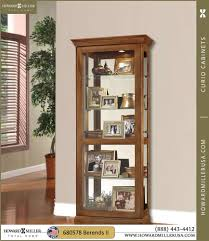 best selection of oak curio cabinets
