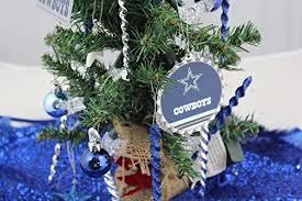 Amazon 19 NFL Dallas Cowboy Decorative Christmas Tree Toys Games
