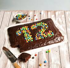 geburtstagskuchen brownie mix dich glücklich thermomix