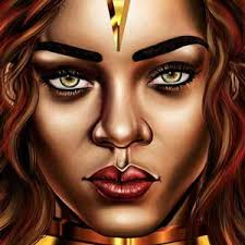 Rihanna Artwork The Most Beautiful Illustration