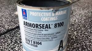 sherwin williams armorseal 8100 application youtube