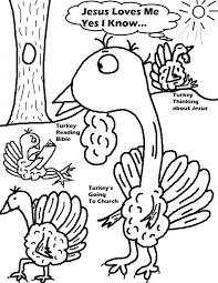 Funny Thanksgiving Coloring Pages