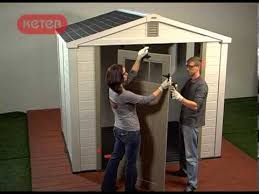 how to build a keter infinity shed youtube