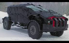 Russian Armored Military Vehicle 2015 ZIL