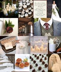 Rustic Winter Wedding Ideas With Pine Cone Theme Photo From Snippet And Ink
