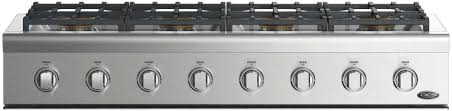 DCS CPV2488N 48 Inch Gas Cooktop with 8 Burners