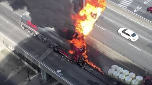 100 Propane Truck Explosion Of A Tanker Truck On The Highway In Montreal Canada Full Hd