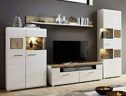 froschkönig24 wohnwand 18276 anbauwand wohnzimmer set weiß