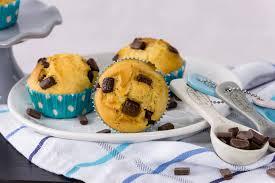 chocolate chip muffins rezept