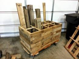 Diy Pallet Wood Storage Rack Wood Storage Pallet Wood And Pallets